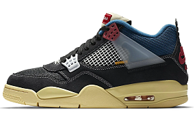 Air Jordan 4 Retro SP x Union LA Off-Noir SKU DC9533-001