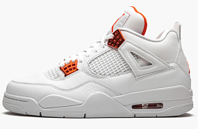 AIR JORDAN 4 RETRO  Metallic Pack - Orange