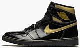 "Air Jordan 1 Retro High OG ""Black Metallic Gold"""