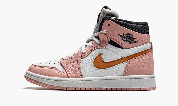 WMNS AIR JORDAN 1 HIGH ZOOM CM Pink Glaze