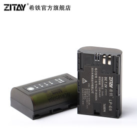 Zitay camera battery Canon LP-E6  5D4 80D 5D2 5D3 bmpcc 4K