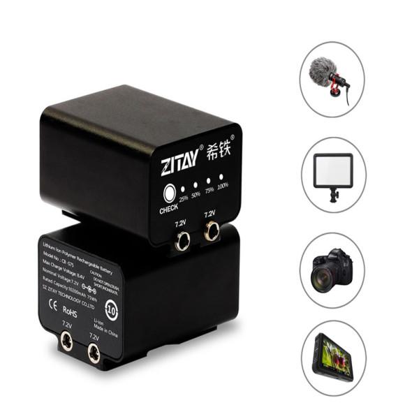 ZITAY Camera External Battery for BMPCC 4K 6K Camera