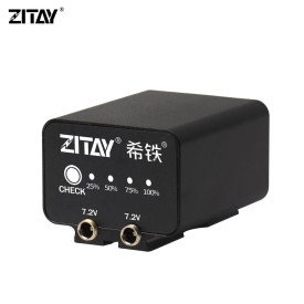 ZITAY Camera External Battery for BMPCC 4K 6K Camera Canon 5D4 5D3 R5 80D
