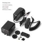 ZITAY Camera External Battery Camera Canon 5D4 5D3 R5 80D