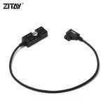 ZITAY D-Tap 1x4 Splitter Cable one male D-tap to four female D-tap outlet adapter converter outlet cord for photography