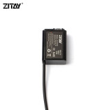 ZITAY Sony NP-FW50 Dummy Battery to Type C USB Camera Power Cable Adapter