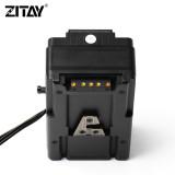 ZITAY CFast To 2.5  Sata3.0 4T SSD Adapter + V Mount Plate For Blackmagic URSA MINI 4K