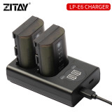 ZITAY Battery Charger Canon LP-E6