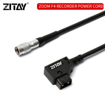 ZITAY D-tap to 4pi male Hirose Power Cable for ZOOM F4/F8 Sound Devices