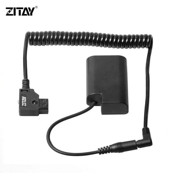 ZITAY D-TAP to DMW-BLJ31GK DC Couple for Sony V Mount Battery to Panasonic S1 S1R S1H Camera