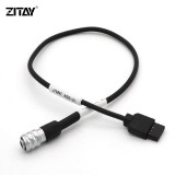 ZITAY 12 V DJI RoninS to BMPCC 4K 6K BlackMagic BMD BMPCC 4K 6K Power Cable for DJI Ronin S Gimbal