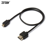 ZITAY HDMI Type A to Mini type C Micro Type D camera cables