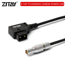 DC to RED KOMODO 6K D-TAP to KOMODO Power Cable V Mount Battery Power to KOMODO DC Power