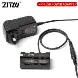 ZITAY Camera Adapter NP-F550 Power Supply