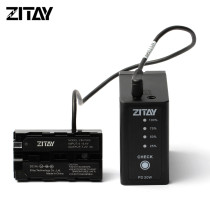 ZITAY New Designed Battery Sony NP-F970-980-F550 with Dual DC Ports and Type C USB Ports Fast Charging Compatible with Sony NP-F930 F950 F960 F550 F530 F330 F570 CCD-SC55 TR516 TR716 TR818 TR910 TR917 etc
