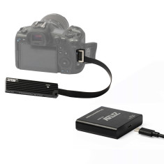 ZITAY CS-305 CFexpress Type B to SSD Convertor + Card Reader Adapter XQD CFE CFX Replacer Substitute Nikon Z6 Z7 D5 D6 D850 D500 PANASONIC DC-S1/S1R Canon EOS 1DX MarkIII R5 C500 MarkII