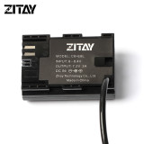 ZITAY DC to LP-E6 Dummy Battery