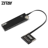 ZITAY CFast 2.0 Memory Card to 2TB 1TB SATA M.2 SSD Hard Drive Card Adapter Converter Cable for Canon C200 C300 XC10 EOS 1DX Mark II Blackmagic URSA Mini EF Z CAM E2