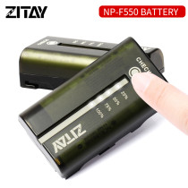 ZITAY Camera Battery NP-F550 Lithium Battery  Camera Power Bank NP-F550 7.2V 3400mAh