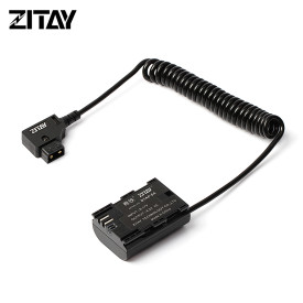 ZITAY D-TAP to LP-E6 Dummy Battery Compatible for Canon 5D2/5D3/5D4/6D/6D2/7D/7D2/70D/80D/5DSR Camera SMALLHD 501 502 701 Monitor Power Cable