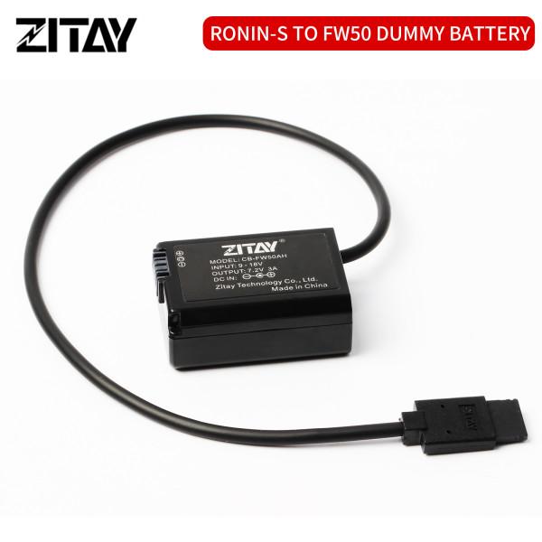 ZITAY Dummy Battery DJI RoninS to NP-FW50