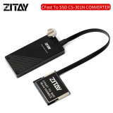 ZITAY CFast to SSD Converter Adapter MSATA SSD 2TB Hard Drive Card Adapter Latest New Version