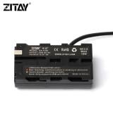 ZITAY USB to NP-F550 Dummy Battery