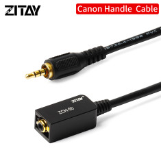 ZITAY Hand Grip Extending Cable Handgrip Extension Cable Compatible for Canon C-Series C100, C100MKII, C200, C200B, C300, C300MKII, C500