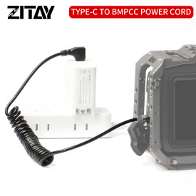ZITAY USB C to BMPCC 4K 6K Power Cable PD Fast Charger
