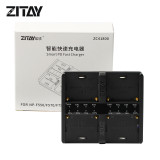 ZITAY 4-Bay Smart PD Fast Charger for Sony NP-F550/F570/F750/F980 6KPRO