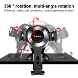 Baseus Gravity Car Phone Holder For iPhone 11 Pro Max Samsung Suction Cup Car Holder For Phone in Car Mobile Phone Holder Stand
