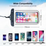 INIU IP68 Universal Waterproof Phone Case Water Proof Bag Mobile Phone Pouch PV Cover For iPhone 11 Pro Xs Max Xr 8 7 Samsung S9