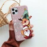 Christmas New Year Case For iPhone 11 Pro X 12 Mini Max 6s 7 8 Plus SE 2020 Phone Cases Soft TPU Back Funy Cover For iPhone XR