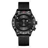 New Style No Mirror Magnetic Ball Watch, Men's Waterproof Watches Unique Men's Military Watch