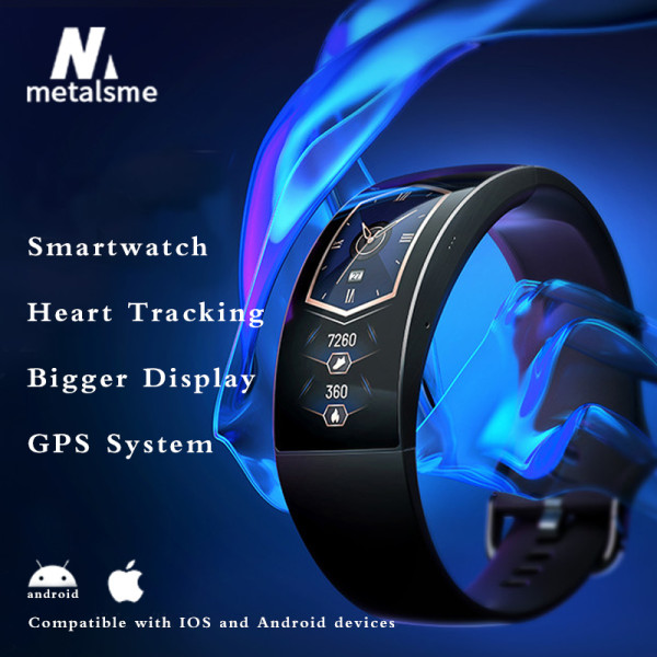 Curved Smart Watch with 24/7 Heart Tracking(🔥 Free Shipping&Buy 2 Get Extra 10% Off)