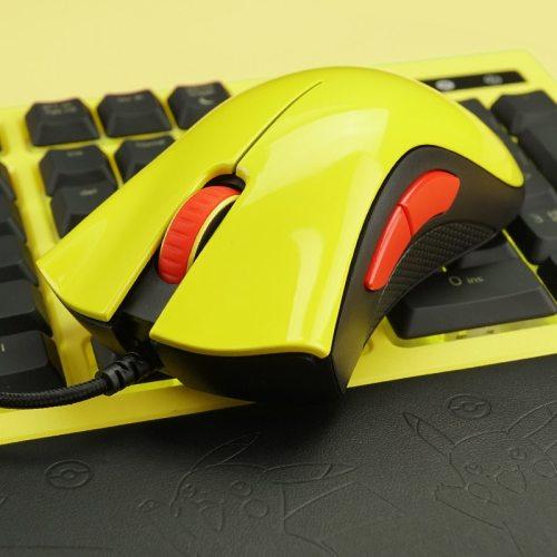 Razer Pokemon Bundle - DeathAdder Essential Gaming Mouse + Goliathus SpeedSoft Mat Medium