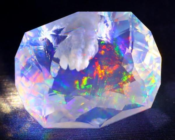 Stunning Opal Aurora Night Sky Rare Ethiopian Gem. Perfect Jewellery Setting or Unique Gift