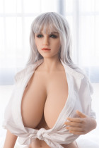 Sanhui Doll 165cm/5ft4 I-cup Silicone Sex Doll with Head #4