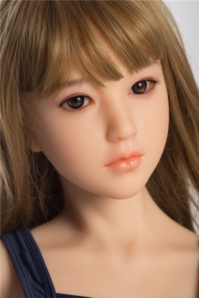 Sanhui Doll 145cm/4ft8 D-cup Silicone Sex Doll with Head #Yuki