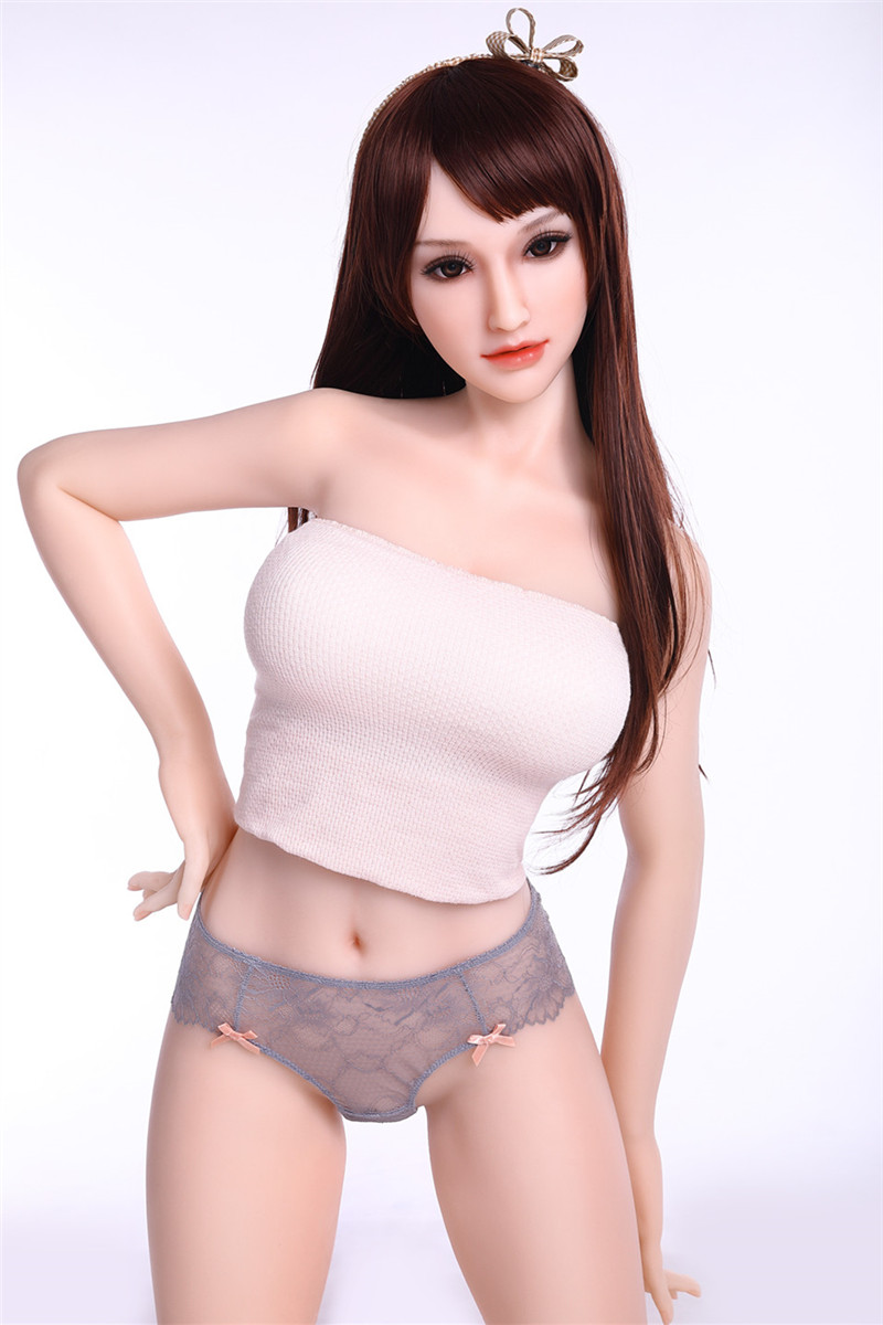 Sanhui Doll 156cm/5ft1 E-cup Silicone Sex Doll with Head #2