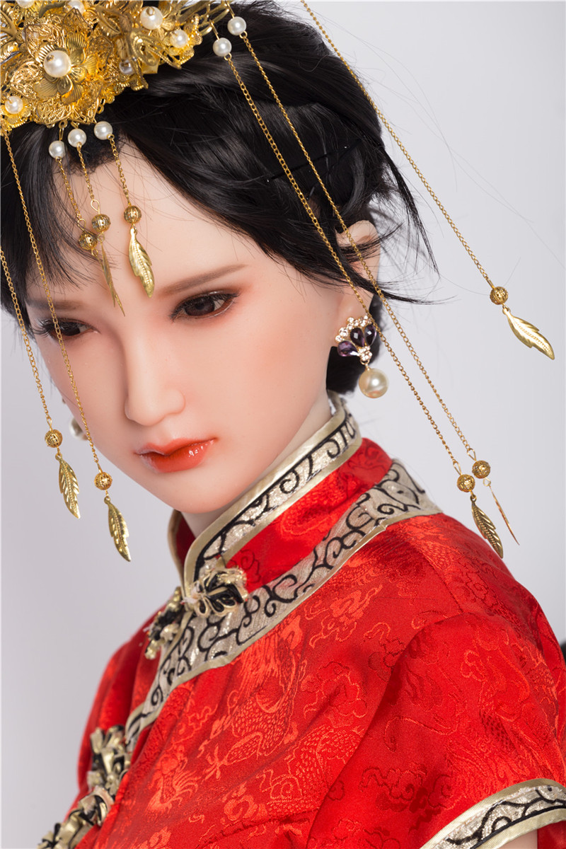 Sanhui Doll 156cm/5ft1 E-cup Silicone Sex Doll with Head #20