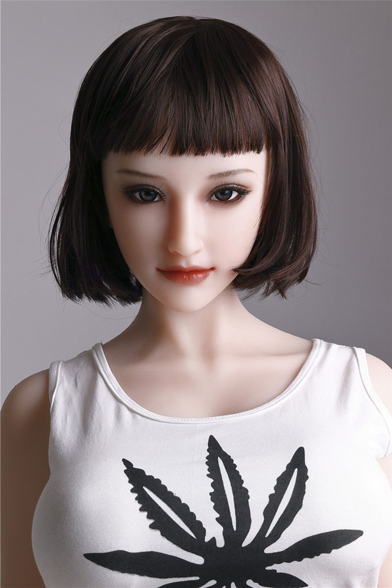 Sanhui Doll 156cm/5ft1 E-cup Silicone Sex Doll with Head #1