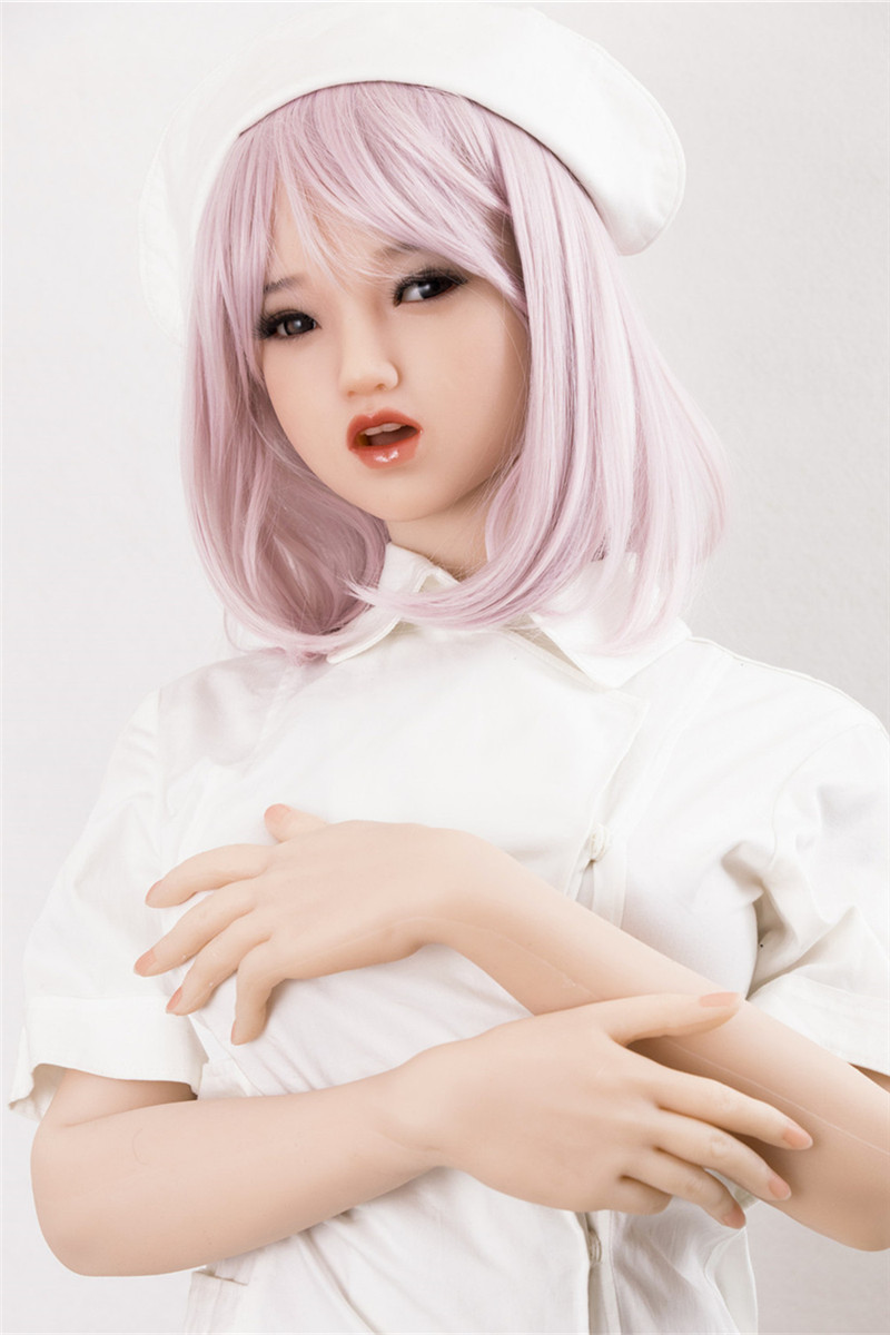 Sanhui Doll 145cm/4ft8 D-cup Silicone Sex Doll with Head #Mila
