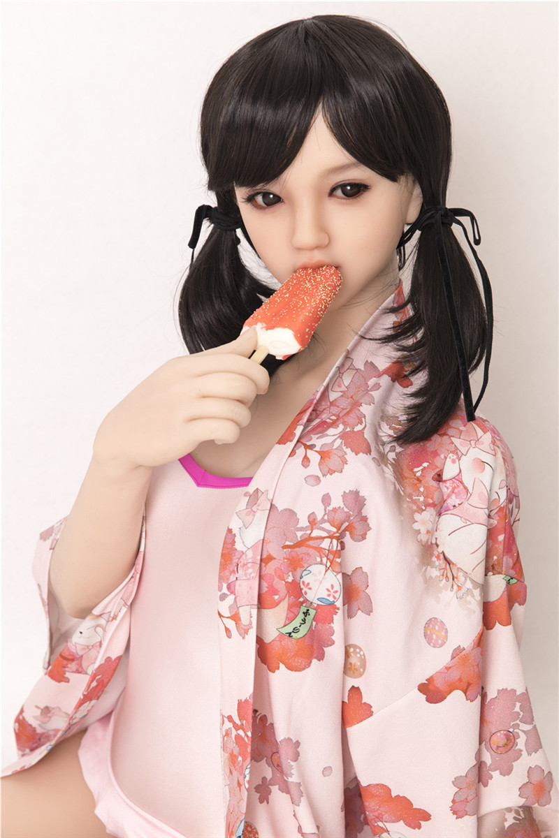 Sanhui Doll 145cm/4ft8 D-cup Silicone Sex Doll with Head #Mei