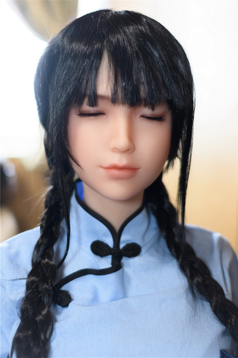 Sanhui Doll 158cm/5ft2 F-cup Silicone Sex Doll with Head #24