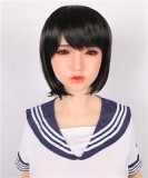 Sanhui 160cm/5.25ft C-cup Seamless Neck Silicone Ultra Realistic Sex Doll #8