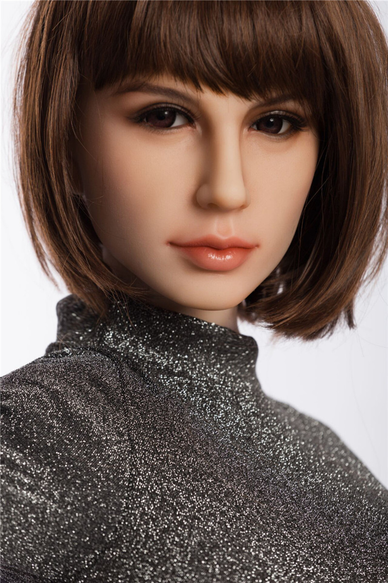 Sanhui Doll 165cm/5ft4 I-cup Silicone Sex Doll with Head #6
