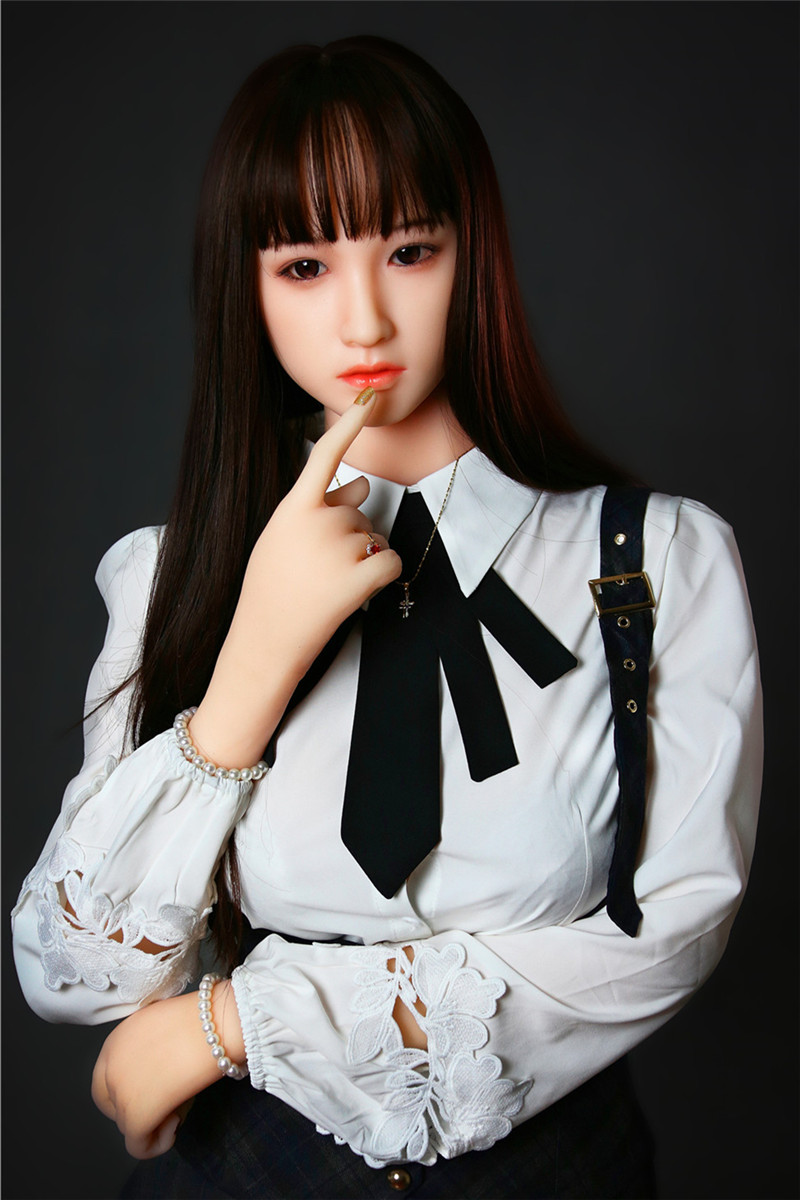 Sanhui Doll 165cm/5ft4 I-cup Silicone Sex Doll with Head #21