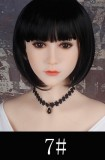 WM Doll TPE Material Love Doll 157cm/5ft1 B-cup with Head #334
