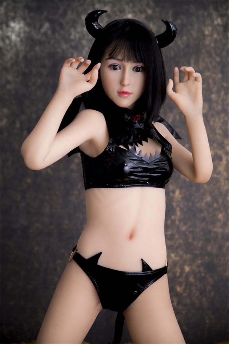 MZR 150cm(4.92ft) Full Size lifelike Sex Doll Silicone Head +TPE Body #4 Mika